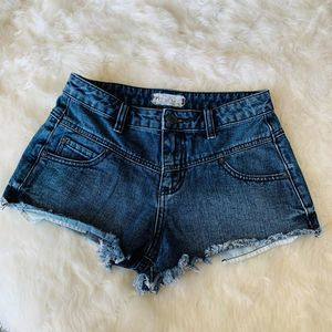 Free People Cut Off Jeans Shorts Size 26